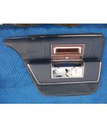 1990 CADILLAC BROUGHAM LEFT REAR BLUE DOOR PANEL OEM USED FLEETWOOD  199... - $250.00