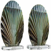 Uttermost Chanda Greens and Bronze 2-Piece Sculpture Set - $173.80