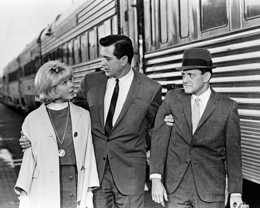 Primary image for Send Me No Flowers Featuring Rock Hudson, Doris Day, Tony Randall 16x20 Canvas
