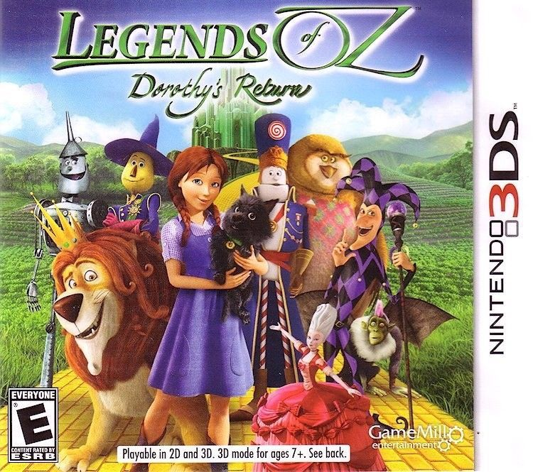 Legends of Oz: Dorothy's Return (Nintendo 3DS, 2014)