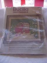 "Vintage Bucilla-Strawberry Basket""-#4900-needlepoint kit - $20.00"