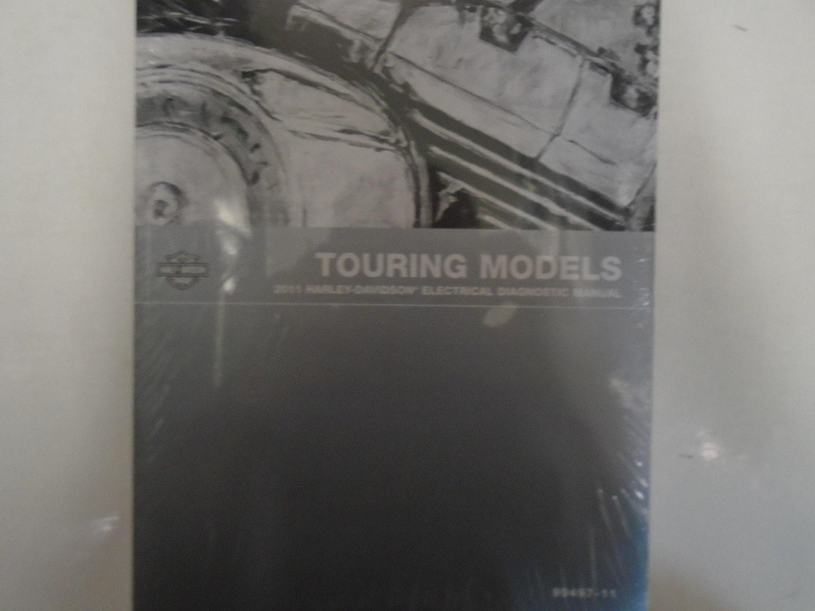 2011 Harley Davidson TOURING MODELS Electrical Diagnostic Manual Brand New  2011