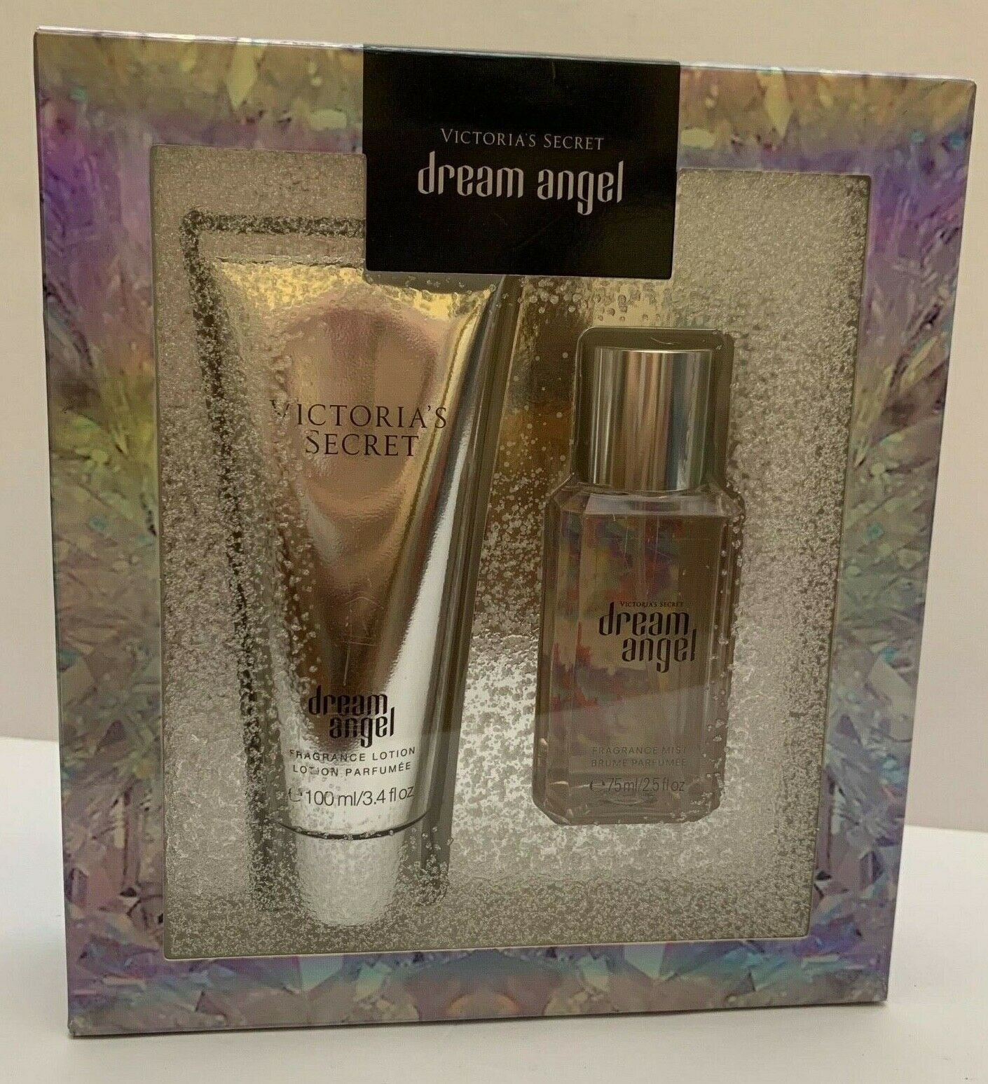 Primary image for VICTORIA`S SECRET DREAM ANGEL BODY LOTION & BODY MIST TRAVEL 2 PIECE GIFT SET