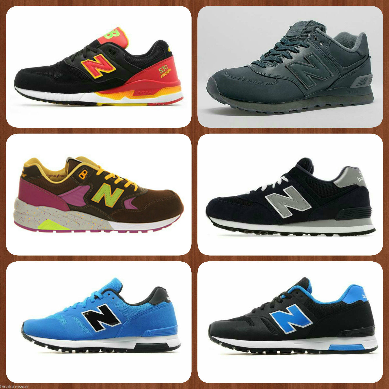 NEW BALANCE MENS DIFFERENT STYLES CLASSIC TRAINERS/RUNNING