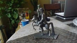 3#K   Emmett Kelly Jr. The Carousel Rider Silver Plated & Crystal Collec... - $49.47
