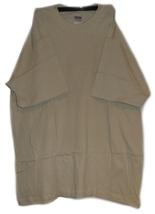 Gildan Heavy Weight 100% Cotton Tshirt T-Shirt Plain Neutral Sand Size L New - $3.99