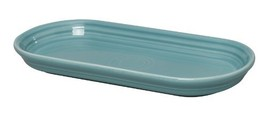 Fiesta 12-Inch by 5-3/4-Inch Bread Tray, Turquoise - $31.85