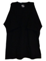 Gildan Heavy Weight 100% Cotton Tshirt T-Shirt Plain Black Size L New - $3.99