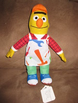 "BERT HARDWARE STORE WORKER SESAME STREET PRE-PRODUCTION SAMPLE Plush 10""... - $59.99"