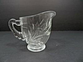 Vintage Mid Century Elegant Heisey glass creamer - $20.00