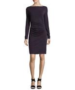 NWT WOMEN Nicole Miller QUINN STRIPED JERSEY DRESS size S $250 - $75.23