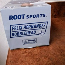 Seattle Mariners King  Felix Hernandez  Bobblehead  2017	Original Box Figurine  image 8