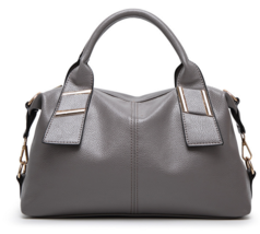 Simple Women Leather Shoulder Bags Large Handbags Totes Bags M406-2 - ₨2,783.92 INR+