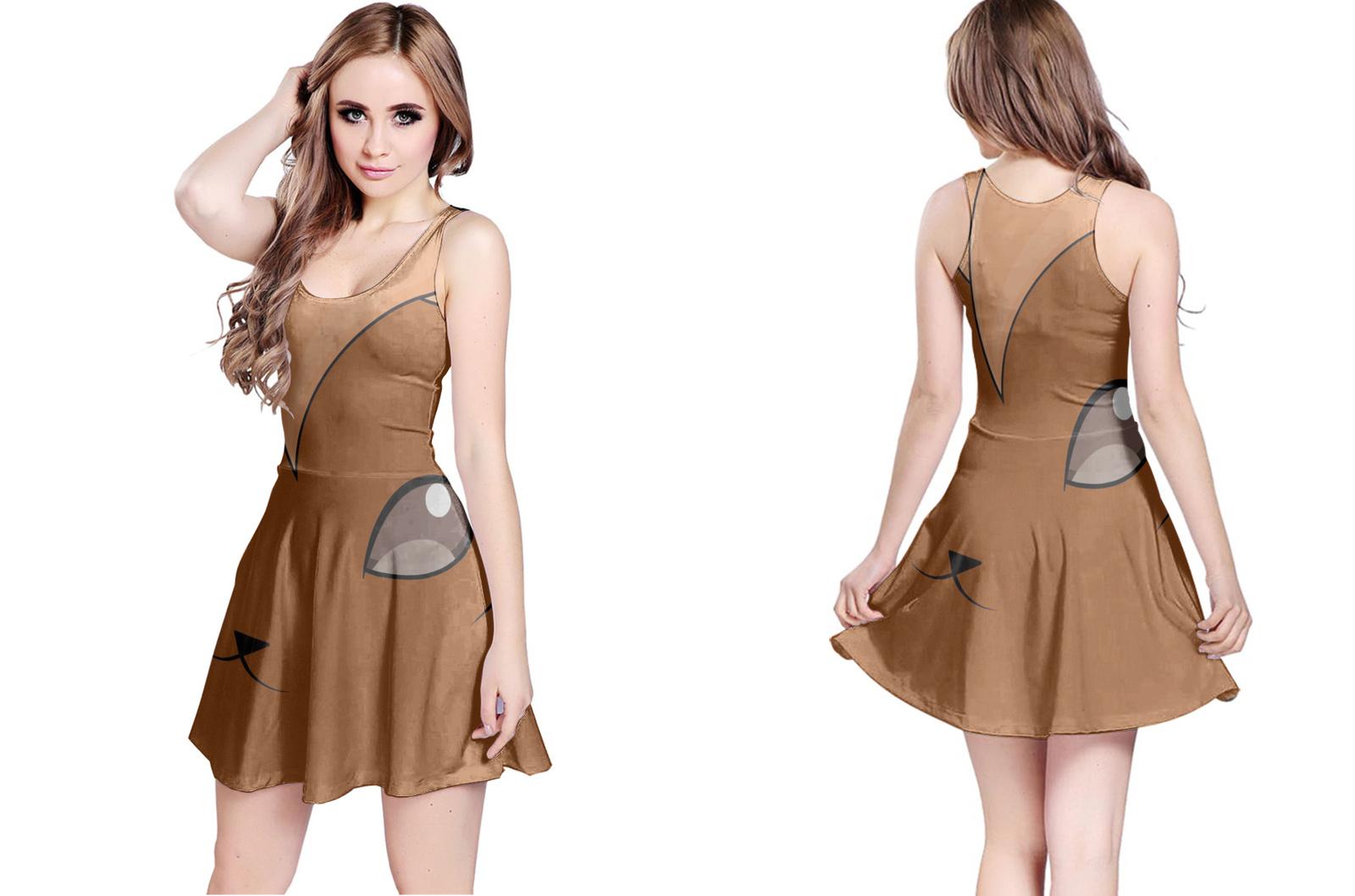 Vulpix reversible dress