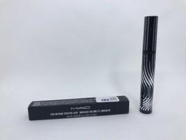 Mac pro Beyond Retorcido Lash Máscara - Trenzado Negro - Tamaño Real Nue... - $15.09