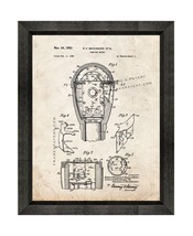 Parking Meter Patent Print Old Look with Beveled Wood Frame - $24.95+