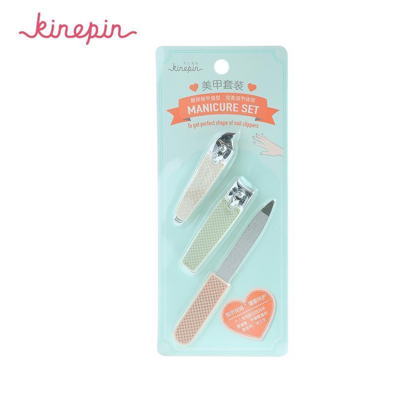 Stainless Steel Nail File Clipper Trimmer Set Fingernail Cutter Clippers Tools image 3