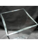 Krosno Poland Glass Accents GF6 Contemporary Clear Glass  Vase  - $35.00