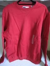 Men's Fila Ferrari Red Crewneck Soft Sueded Fleece Sweatshirt Sz M - $24.95