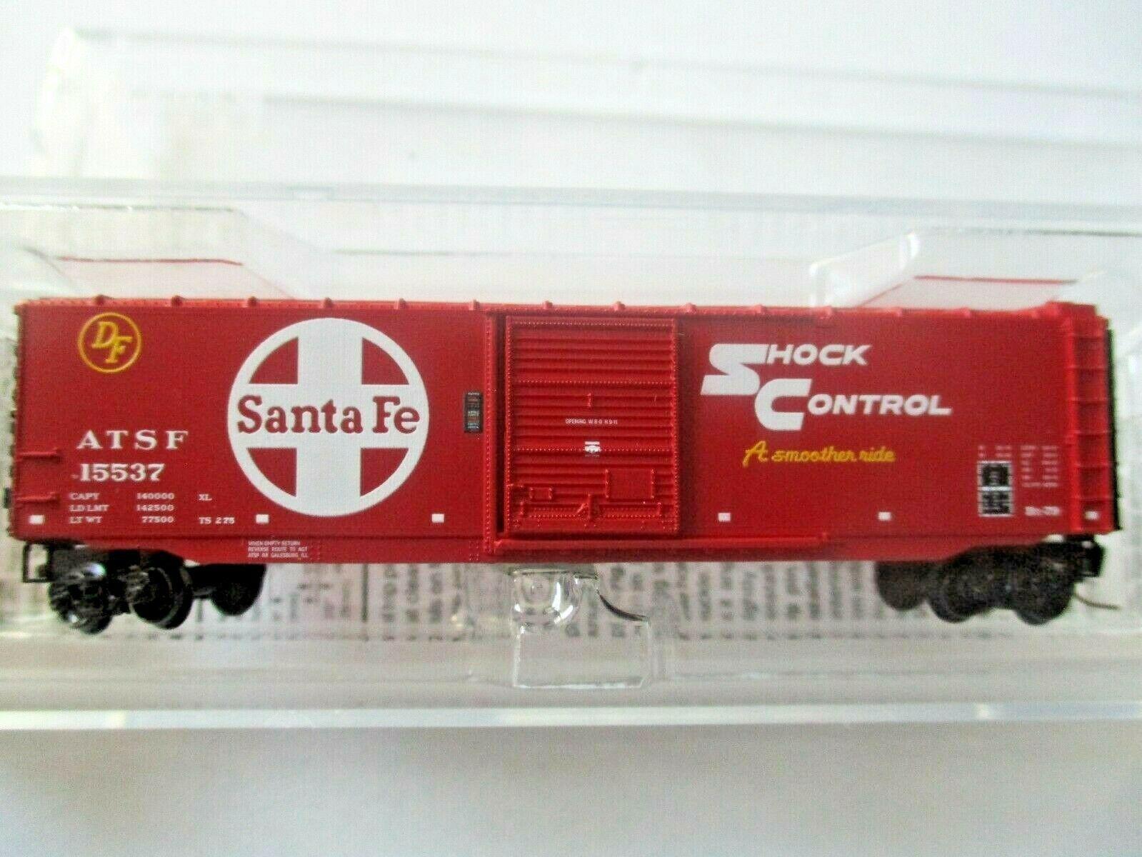 Micro-Trains # 50500431 Atchison, Topeka & Santa Fe 50' Standard Boxcar Z-Scale