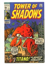 Tower Shadows #7 1970-BARRY SMITH-WALLY WOOD-JACK KIRBY-VF - $25.22
