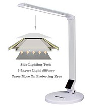 WITLIGHT LED Dimmable Desk Lamp, 5 Dimming Levels with Touch Sensitive, ... - $784,66 MXN