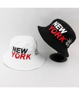 New York Bucket Hat Men Women Panama Boonie Cotton Fishing Outdoor Summe... - $13.99