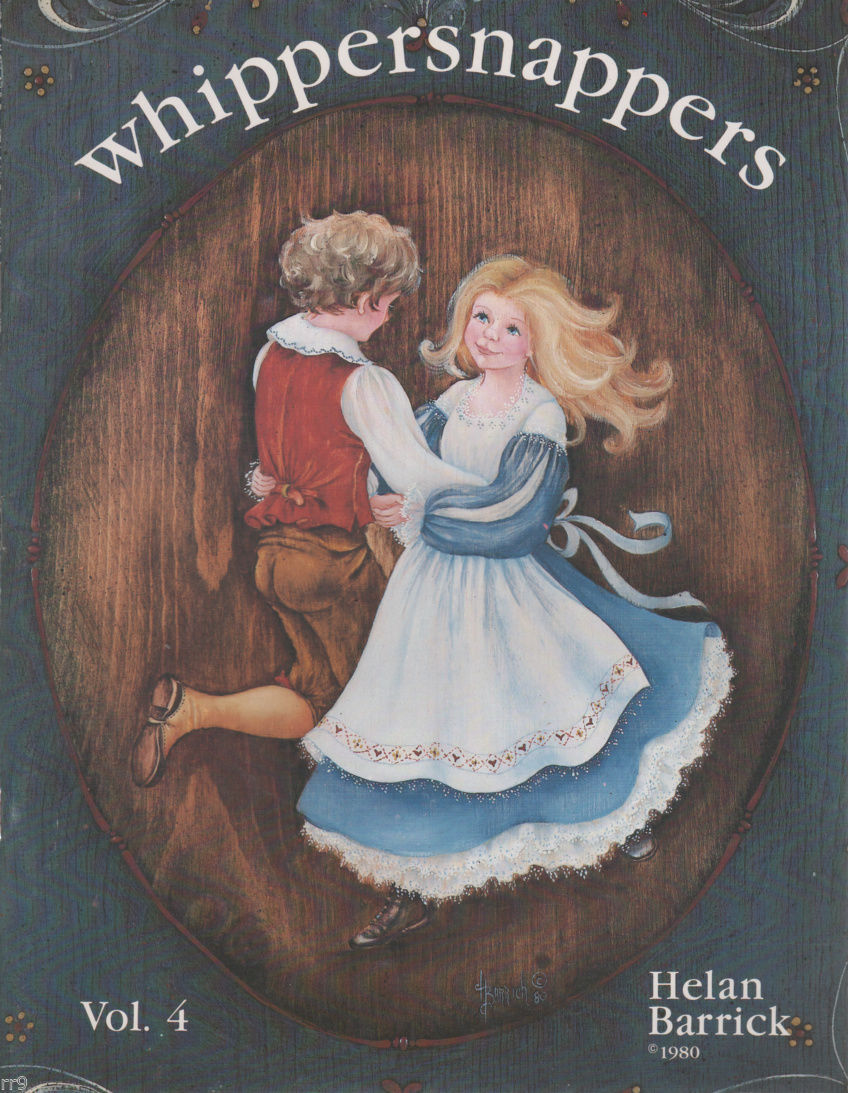 Primary image for Whippersnappers Vol.4 by Helan Barrick Painting Book 1980