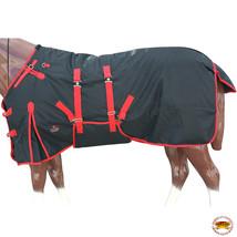 "70"" Hilason 1200D Waterproof Poly Turnout Horse Winter Belly Wrap Blanket U-R-70 - $84.99"