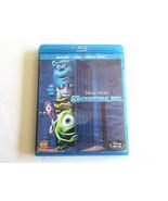 Monsters, Inc. (4 Disc Set - Blu-ray Disc / DVD) No digital Copy --- Acc... - $7.99
