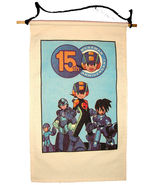 "2002 MEGA MAN Video Game 15th Anniversary Canvas BANNER 14.5""x24 Capcom ... - $24.99"