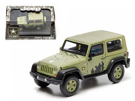 2012 Jeep Wrangler U.S. Army Hard Top Light Green With Display Showcase ... - $25.06