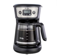 New Mr. Coffee 12-Cup Programmable Coffeemaker - Free Shipping - $43.42