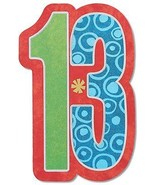 American Greetings 5853346 13th Birthday Card With Glitter - $13.47