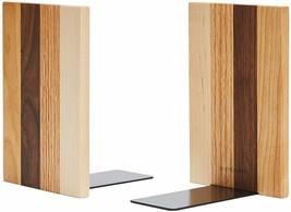 Pandapark Decorative Wood Bookends, 1 Pair, American Dream