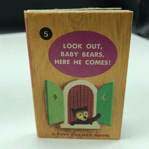 Disney Tiny Golden Library Book Disneyland Stories Kunhardt #5 Look Out Bears 5 - $14.80