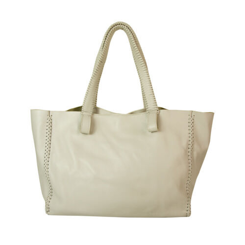 "Callista Crafts Ultra Light gray ""Ice"" color Tote Shoulder Bag Handbag Hobo"