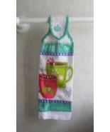 Santa's Cocoa Hanging Towel, - $3.25