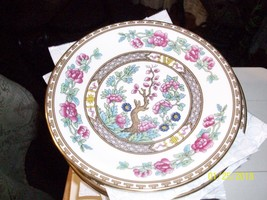 10#    Vintage Aynsley Ind. Tree Plate/Saucer Bone China England Pre-owned - $6.91