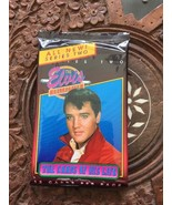 Elvis Presley Collectors Cards White Shirt 12 Cards Per Pack Never Open - $5.52