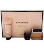 GIVENCHY DAHLIA NOIR 3 PIECE GIFT SET EAU DE PARFUM SPRAY 50ML NIB-P146006 - $79.50