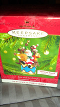 "Hallmark Ornaments 2001 ""Kris And The Kringles"" Mib - $24.00"