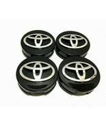 "4 pcs, Toyota, Wheel Center HubCap, Black, 62 MM, 2.44"", Camry Corolla A... - $19.99"
