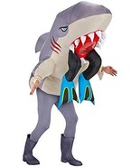 Inflatable Shark Costume - Halloween Costume for Men and Women - Funny C... - $44.95
