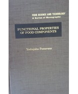 Functional Properties Of Food Components by Y. Pomeranz, Hardcover - $1.94