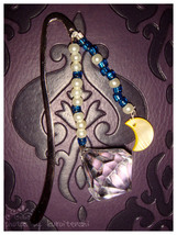 Crescent Moon and Crystal Bookmark SM Inspired - $6.00