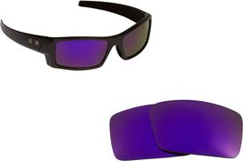 New SEEK Replacement Lenses Oakley GASCAN S - Polarized Purple - $16.80