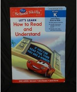 DESCRIPTION Disney Pixar Cars School Skills How to Read and Understand - $7.99