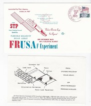 FRUSA F EXPERIMENT FIRST STP VANDENBERG AFB CA OCTOBER 17 1971 SPACE VOYAGE - $1.98