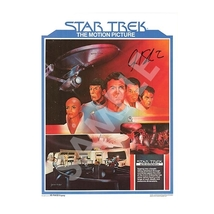 Star Trek The Motion Picture 1979 Poster SIGNED William Shatner #/50 SDC... - $299.98